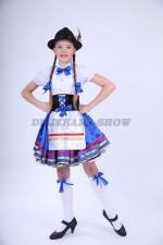 00818 Немецкий национальный костюм 07