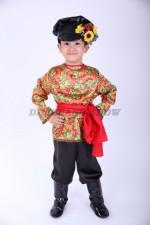 00628 Русский народный костюм для мальчика (Fox 01)