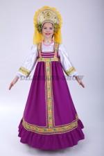 00629 Русский народный костюм «Алёнушка» 04