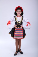 4239. Сербский национальный костюм для девочки