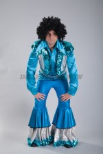 01839 Мужской костюм в стиле Диско