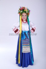 00833 Украинский народный костюм для девочки 03