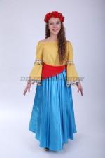 4275. Филиппинский народный костюм для девочки подростка