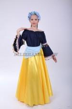 4276. Филиппинский народный костюм для девочки