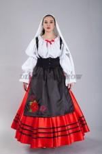 02248 Сицилийский женский костюм