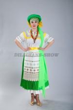 02329 Белорусский женский народный костюм