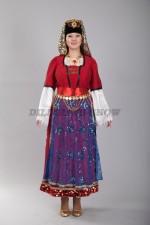02502 Турецкий национальный женский костюм