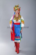 02326 Украинский женский костюм