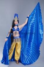 5250. Костюм для восточных танцев с крыльями (2)