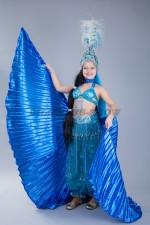 00998 Костюм для восточных танцев с крыльями