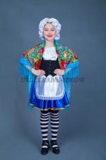 00826 Французский национальный костюм Абелия