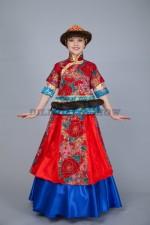 00806 Монгольский народный костюм Гоёцецек