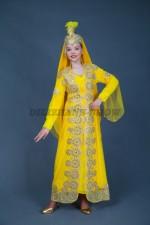02253 Уйгурский праздничный костюм