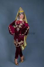 02263 Туркменский народный костюм