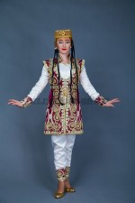 02265 Узбекский танцевальный костюм