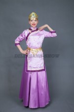 00805 Монгольский народный костюм Ургамал