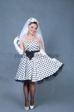 5804. Невеста в стиляжном платье