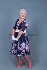 5816. Стиляжное платье для женщины