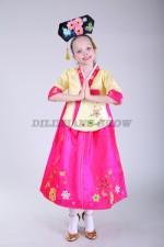 Корейский костюм ханбок «Hong 06»