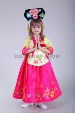 Корейский костюм ханбок «Hong02»