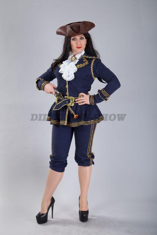 4409. Женский костюм пиратки