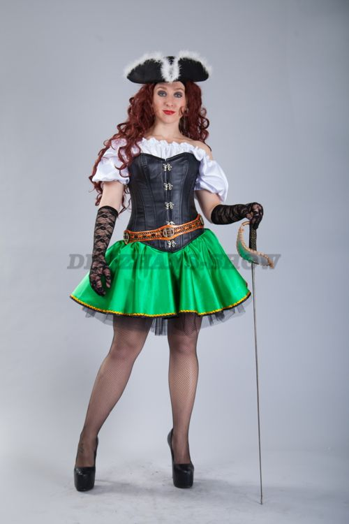 4494. Пиратский костюм мини