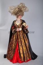 01940 Венецианский женский костюм