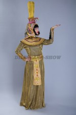 01673 Царица Клеопатра в золотом одеянии