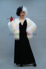 01396 Круэлла де Виль в светящейся шубке. 101 далматинец.