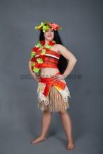 01378 Моана. Полинезийская диснеевская принцесса.