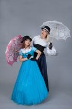 01518 Мама и дочка «Мэри Поппинс, до свидания»