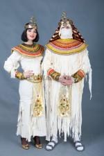 5862. Мумии. Парные костюмы.