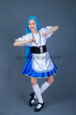 00853 Еврейский народный костюм Кармель