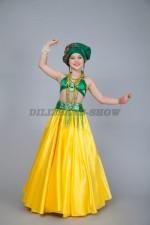 00860 Кубинский танцевальный костюм Лусия
